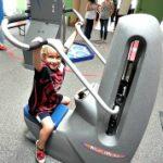 Children in gyms