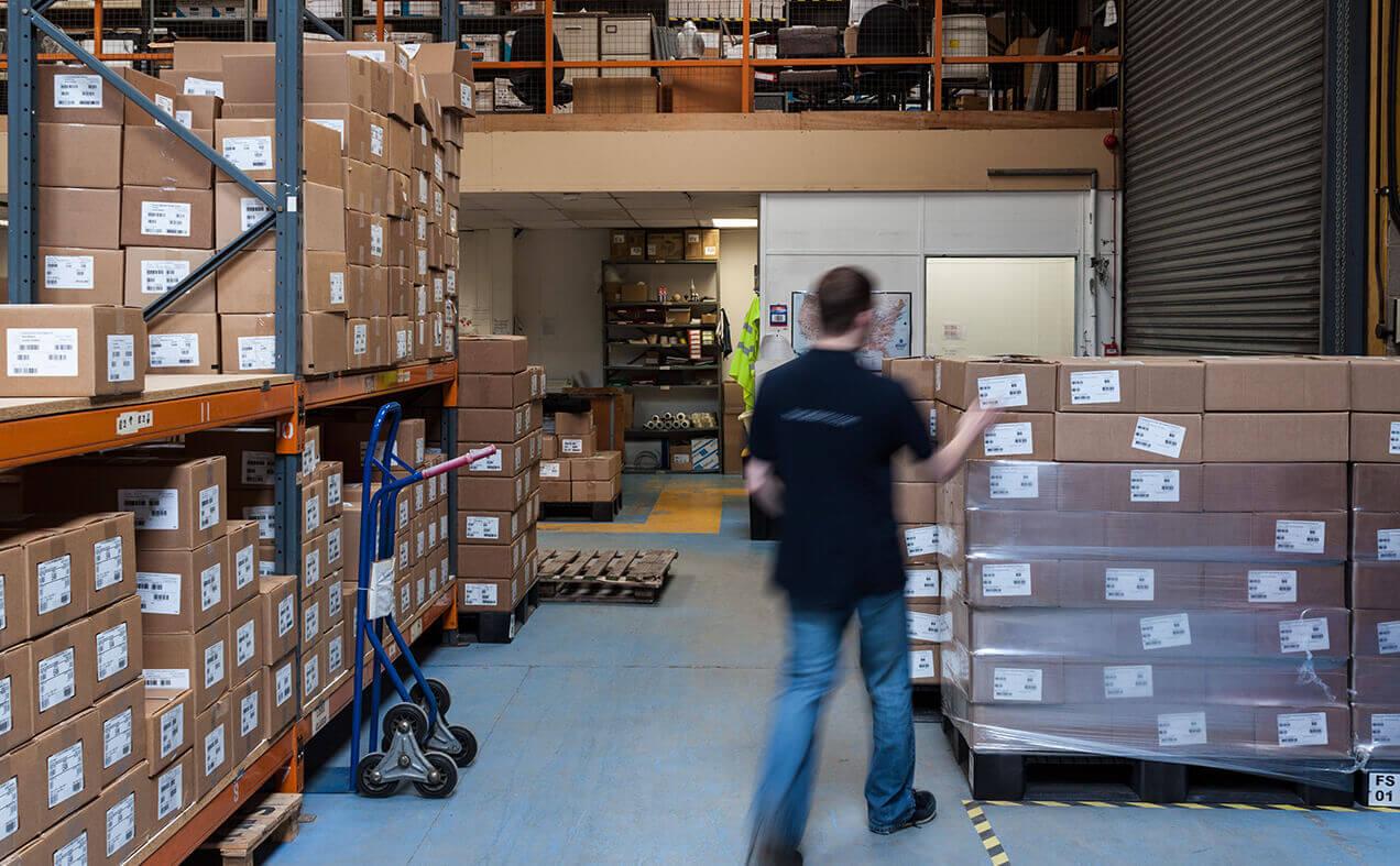 Human Kinetics warehouse