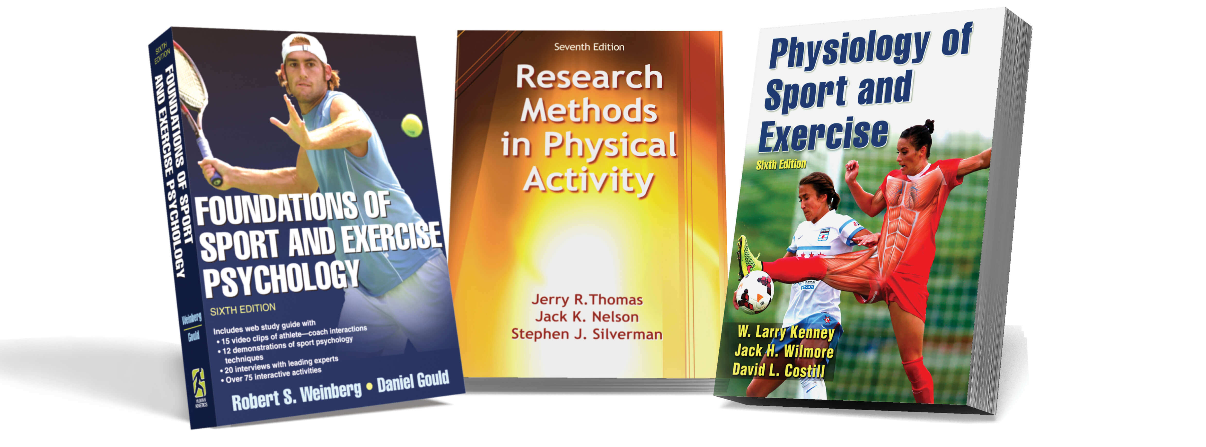 Human kinetics textbooks