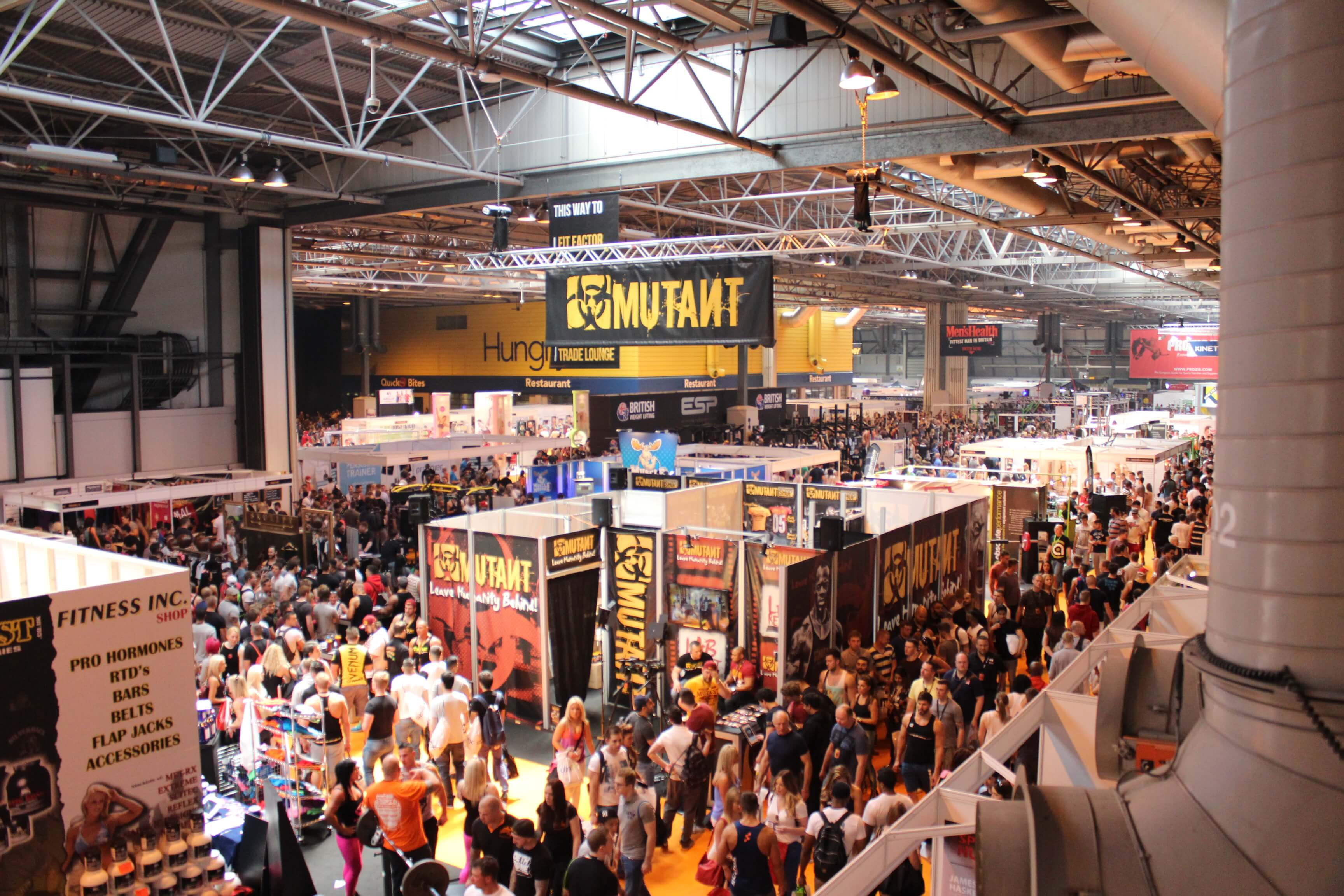 Bodypower Expo Stands : Human kinetics will exhibit at bodypower