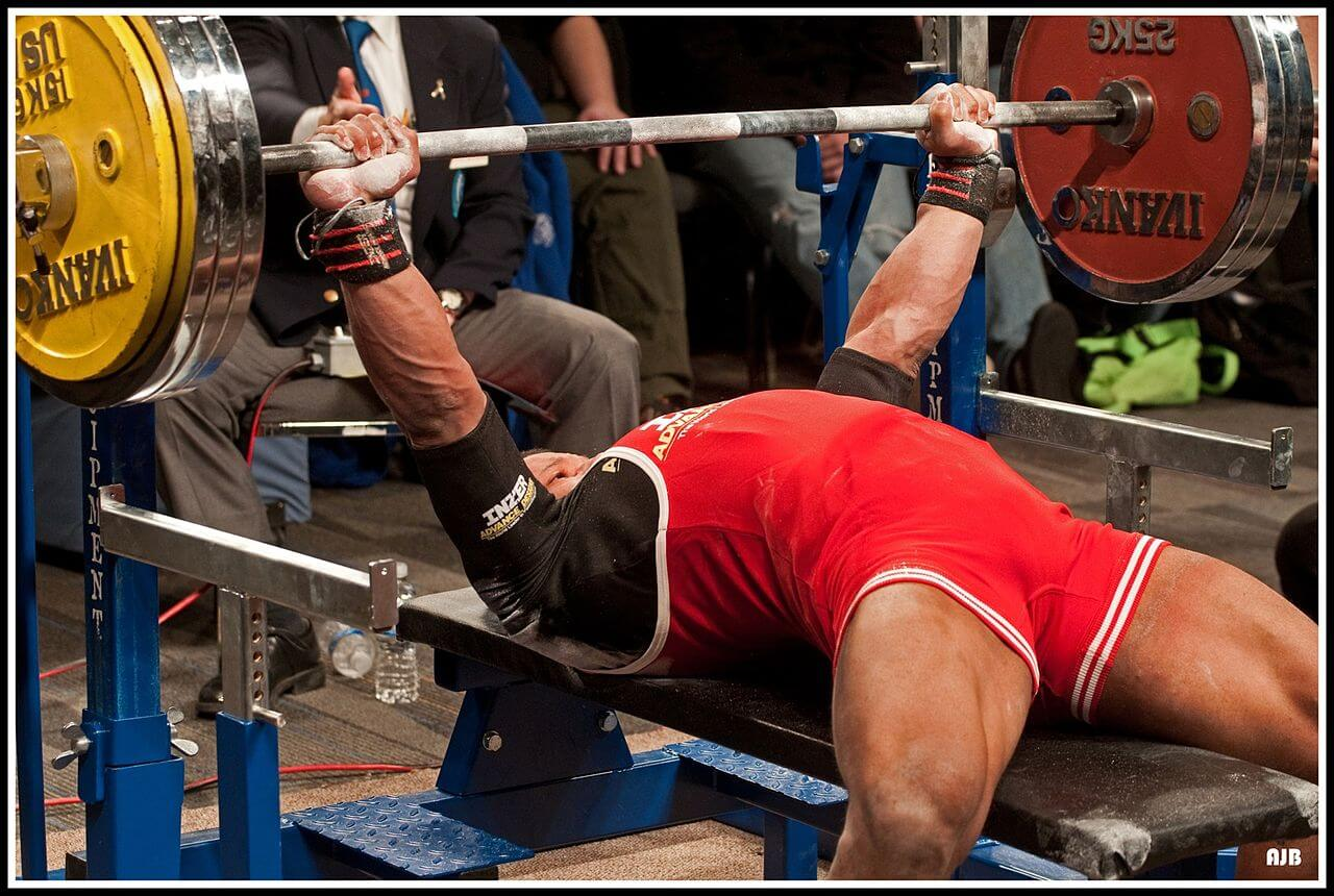 Bench press technique