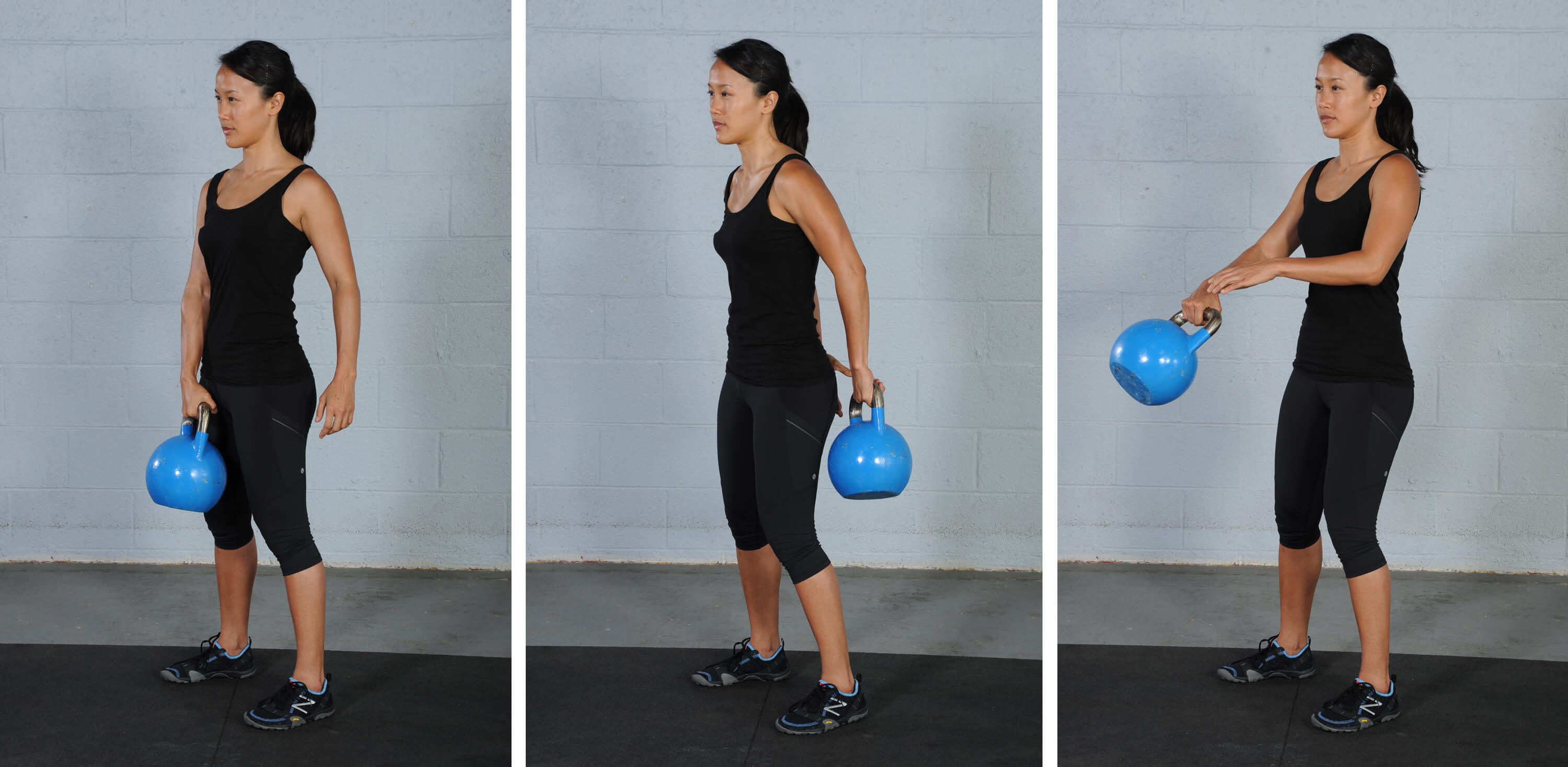 Around the body pass, kettlebell exercises for fat loss