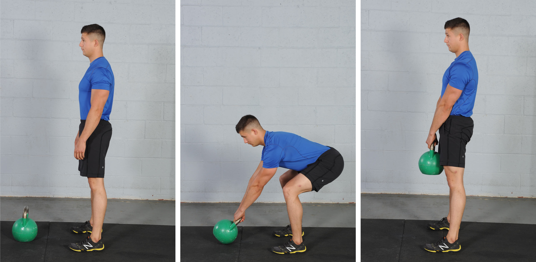 Kettlebell Deadlift, Kettlebell exercises for fat loss