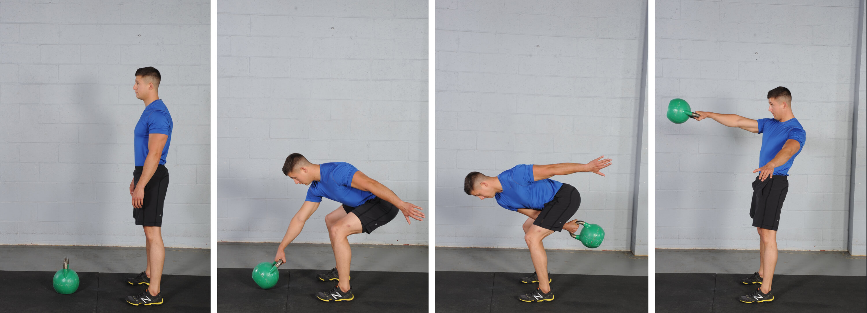 Single Swing, kettlebell exercises for fat loss
