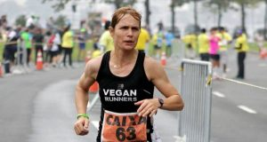 Vegan muscle and running Fiona-Oakes
