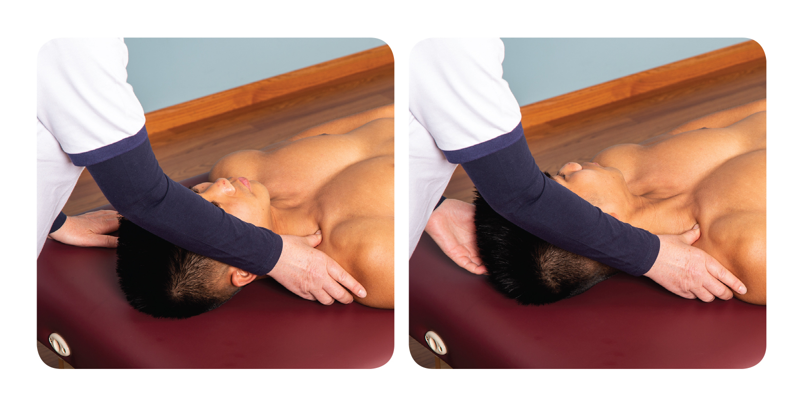 Active assisted soft tissue release for the upper back scalenes_2