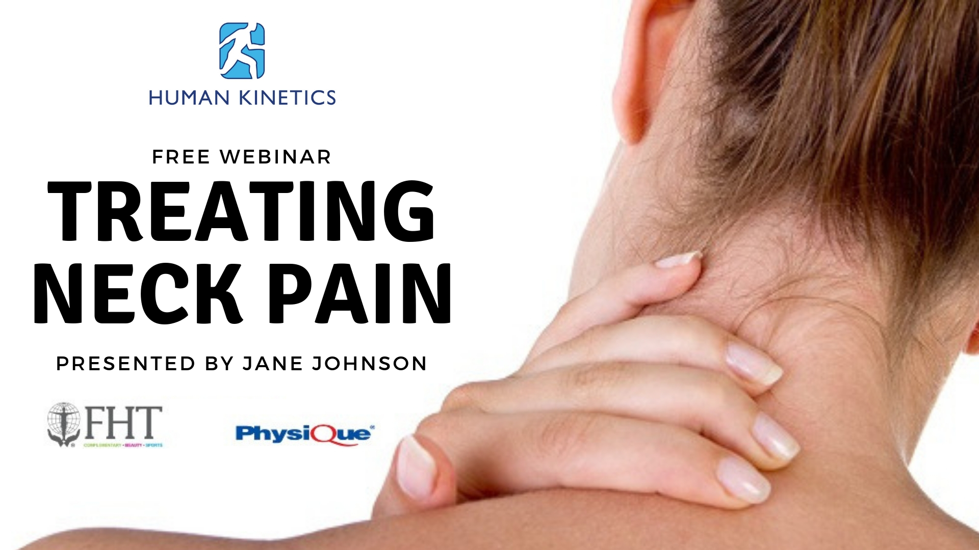 Treating neck pain webinar Jane Johnson