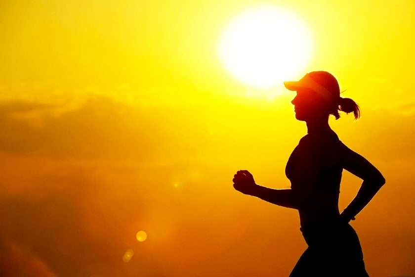 running in heat and humidity